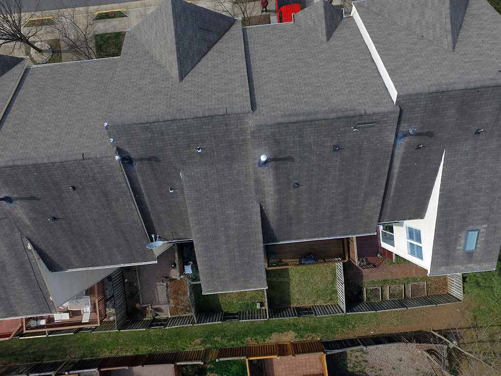 Wind Damaged Roof Project In Fairfax Va Roofing